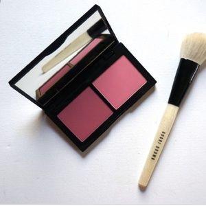 NEW Bobbi Brown Blush Duo- Sand Pink & Pale Pink
